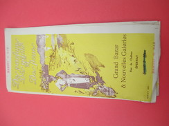 """Dépliant Publicitaire 6 Volets/ """" Parfums  Gants Et  Fleurs""""/Grand Bazar & Nouvelles Galeries/EPERNAY/1923     CAT205 - Invoices & Commercial Documents"""