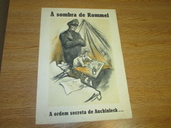 Poster Affiche WWII Deuxieme Guerre Mondiale Germany UK Africa Afrika Korps Rommel - Posters