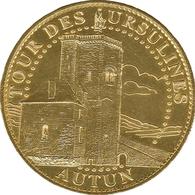 71 AUTUN TOUR DES URSULINES MÉDAILLE ARTHUS BERTRAND 2008 JETON MEDALS TOKENS COINS - Arthus Bertrand