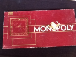 Jeu De Société Vintage Monopoly  Edition De Luxe (pions En Métal) Parker - Jeux De Société