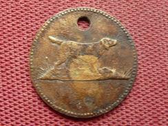 SUISSE Très Rare Jeton De Taxe Pour Chien De Courtemaiche 1932 - Monetary /of Necessity