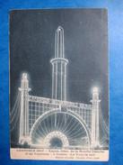 ISERE   38     GRENOBLE    -   EXPO. INTERNATIONALE DE LA  HOUILLE  BLANCHE -   LA TOUR LA NUIT         TTB - Grenoble