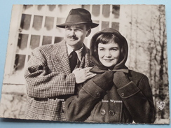 LEW AYRES - JANE WYMAN ( Chocoladen STAR / CLOVIS Pepinster : Format 17 X 22,5 Cm. / Voir Photo Pour Detail ) ! - Célébrités