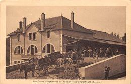 BISSEY SOUS CRUCHAUD - Les Caves Coopératives - Attelage - France