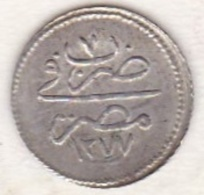 Empire Ottoman. 10 Para AH 1277 Year 7. Abdul Aziz, En Argent. KM# 243 .Sup/XF+++ - Egypte