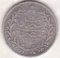 Empire Ottoman. 1 Qirsh AH 1293 Year 10. Abdul Hamid, En Argent. KM# 292 - Egipto