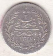 Empire Ottoman. 1 Qirsh AH 1327 Year 2. Muhammad V, En Argent. KM# 305 - Egypte