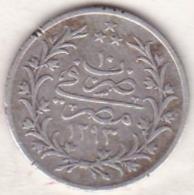 Empire Ottoman. 2 Qirsh AH 1293 Year 10. Abdul Hamid, En Argent. KM# 293 - Egypte