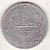Empire Ottoman. 5 Qirsh AH 1293 Year 21. Abdul Hamid, En Argent. KM# 294 - Egypte