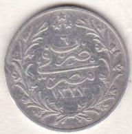 Empire Ottoman. 5 Qirsh AH 1327 Year 6. Muhammad V, En Argent. KM# 308 - Egipto