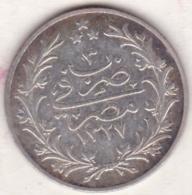 Empire Ottoman. 5 Qirsh AH 1327 Year 3. Muhammad V, En Argent. KM# 308 - Egypte