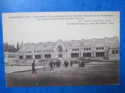 ISERE   38   GRENOBLE  -   EXPO. INTERNATIONALE DE LA  HOUILLE BLANCHE  -   GRAND  PALAIS     ANIME   TTB - Grenoble