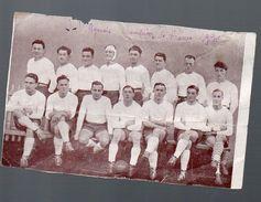Agen (47 Lot Et Garonne) Fragment De Document Avec L'équipe De Rugby Championne De France 1930 (PPP5938) - Old Paper