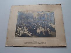 R.F.C. BRUGEOIS : XXXVe Anniversaire De La Fondation : Banquet 6 Fev. 1927 ( Format 27 X 33 Cm. / Voir Photo ) ! - Célébrités