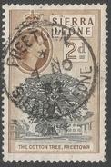 Sierra Leone. 1956-61 QEII. 2d Used. SG 213 - Sierra Leone (...-1960)