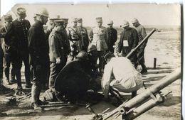 Militaire - Présentation D'armes Avec Des Japonais - Militaria