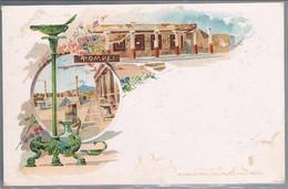 Italia, Bilhete Postal Pompei - Pompei