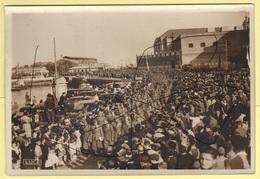 Legionari Italiani A Càdiz Guerra Di Spagna Cadice Al Porto Marittimo - Guerra, Militari