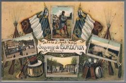 France, Bilhete Postal Souvenir De Bourdeaux - Bordeaux