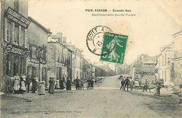 PIE 17-VIN-6317  : POIX TERRON  GRANDE RUE - Frankreich