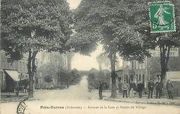PIE 17-VIN-6318  : POIX TERRON  AVENUE DE LA GARE - France