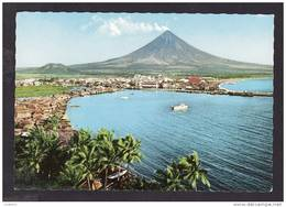 PHILIPPINES - LEGASPI CITY AT THE FOOT OF THE BEAUTIFUL MT. MAYON - Philippines