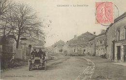 PIE 17-VIN-6329  : CHEMERY  LA  GRAND RUE. AUTOMOBILE - France