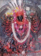 NEPAL - COLOUR PICTURE POST CARD - COTTAGE INDUSTRIES & HANDICRAFTS EMPORIUM - TOURISM - GODDESS PALANCHOWK BHAGWATI - Nepal