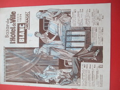 Catalogue Blanc Ménage/ Mode/Bazar De L'Hotel De Ville/PARIS/ Avenir Publicité/ 1934    CAT208 - Fatture & Documenti Commerciali