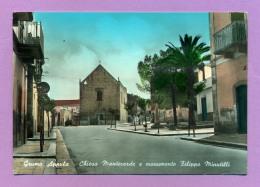 Grumo Appula - Chiesa Manteverde E Monumento Filippo Minutilli - Bari