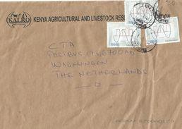 Kenya 2016 Machanos Analog Digital Signals ITU Communications Cover - Kenia (1963-...)