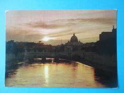 Roma - Controluce - Tramonto Sul Tevere - Controluce