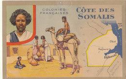 SOMALIE / COLONIES FRANCAISES    ///////    REF SEPT. 17  REF N° 3905 - Somalie