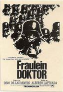 Affichette Promotionnelle Officielle Du Film Fräulein Doktor1969 - Werbetrailer