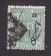 Puerto Rico, Scott #6, Used, Cuba Stamp Overprinted, Issued 1875 - Puerto Rico