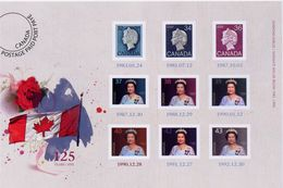 Canada. 2012,  # UX 268,  QE 11, Diamond Jubilee, POST CARD  .MNH  With Stamp 1168 - Cartes Illustrées Officielles