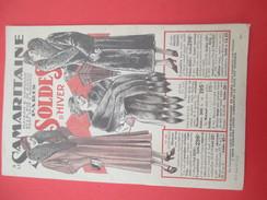 Catalogue Soldes D' Hiver/Mode/La Samaritaine / Rue De Rivoli/ Paris / Pigelet / 1933-34    CAT213 - Invoices & Commercial Documents