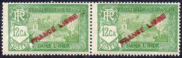 INDE Paire Yvert 137 ** Maury 133 ** TB - India (1892-1954)