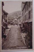 SEYSSEL (Ain) - Rue Du Pont - Rare Cliché CP Photo 1912 - Seyssel