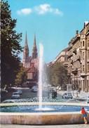 CROATIA - VERY OLD COLOUR PICTURE POST CARD - TURISTKOMERC - TOURISM, VIEW OF THE CITY ZAGREB - Croatia