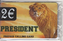 GREECE - Lion, President Prepaid Card, Mint - Greece