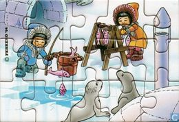 Bei Den Eskimos / Puzzle - Maxi (Kinder-)