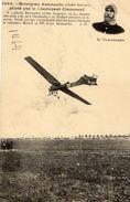 Monoplan Antoinette Piloté Par Le Lieutenant Clavenard -  CPA - Aviadores