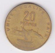 Pièce 20 Francs Djibouti 1983 - Djibouti