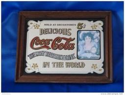 """Miroir """"COCA COLA"""". - Coca-Cola"""