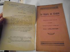 LA RIGOLE DU DIABLE Paillette Du Folklore Creusois Recueillie, Traduite Du Patois, Versifiée Par AJ. LEGLANTIER / Creuse - Limousin