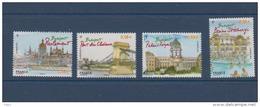 2011-N° 4538/4541** BUDAPEST - France