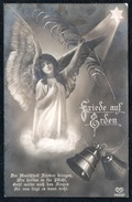 9622 - Alte Foto Glückwunschkarte - Schutzengel Engel Guardian Angel Feldpost 1917 Dittersdorf - Natale