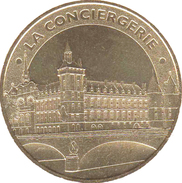 70001 PARIS LA CONCIERGERIE N°3 MÉDAILLE MONNAIE DE PARIS 2012 JETON TOKEN MEDALS COINS RÉFÉRENCE OMS 7501LC3/12 - Monnaie De Paris