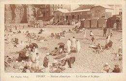 76)   YPORT  - Le Casino Et La Plage - Yport